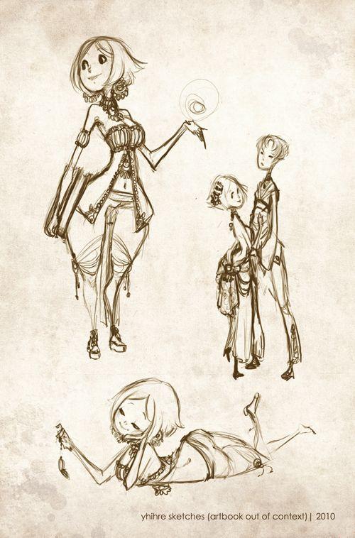 deviantart character sketches - photo #24