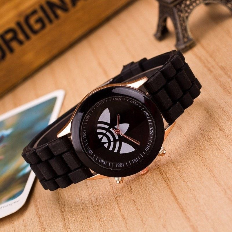 Fashion Jelly Silicone Sport Quartz Watches