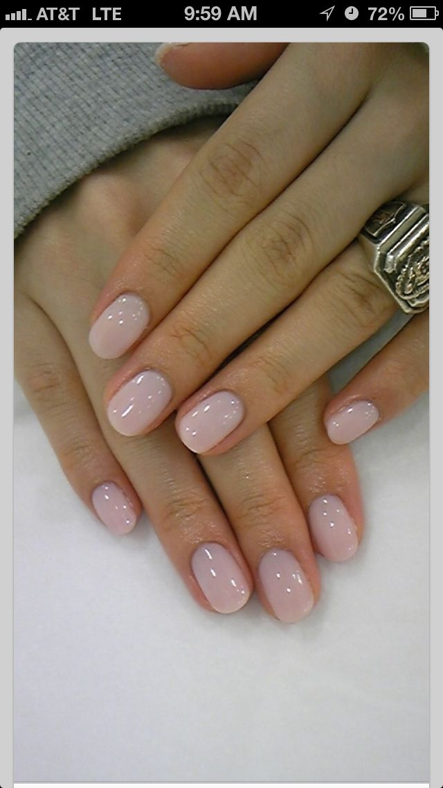 Love the color and shape...Wish i could have healthy nails like that ...