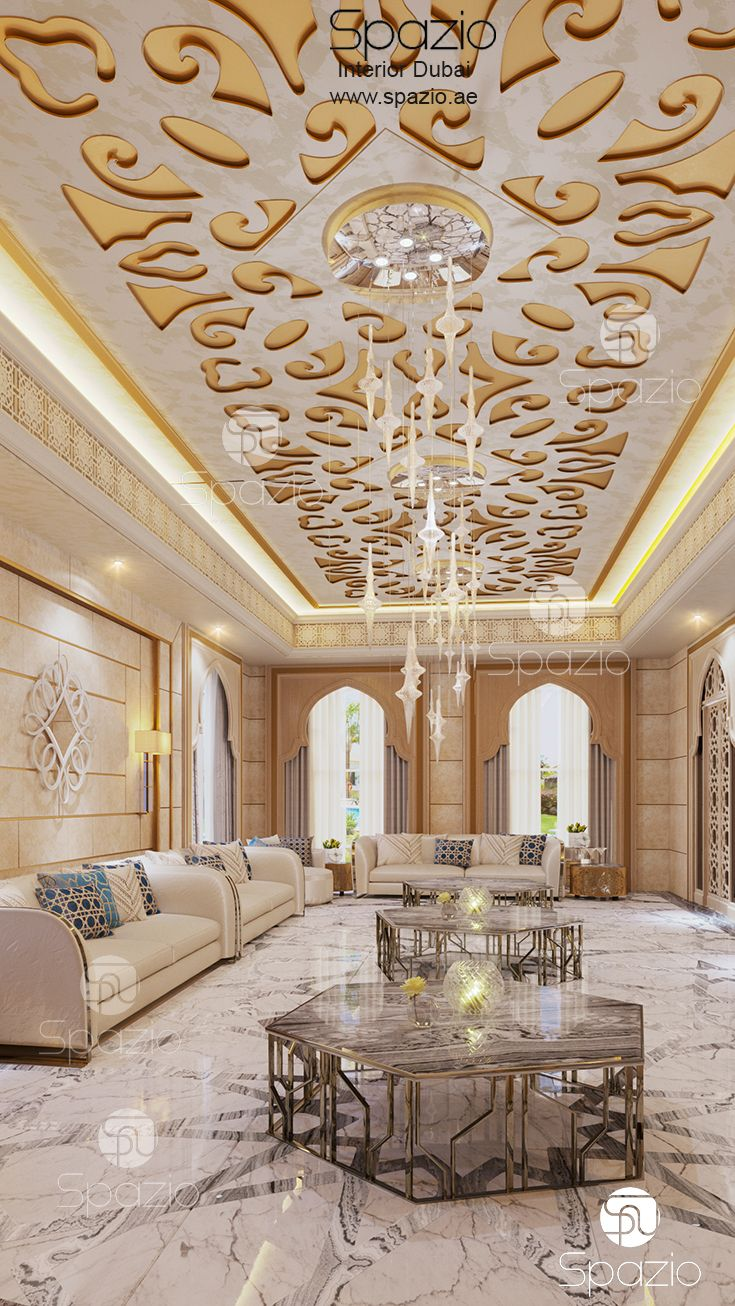 Foyer Decor Uae : A contemporary luxury arabic majlis design in dubai you
