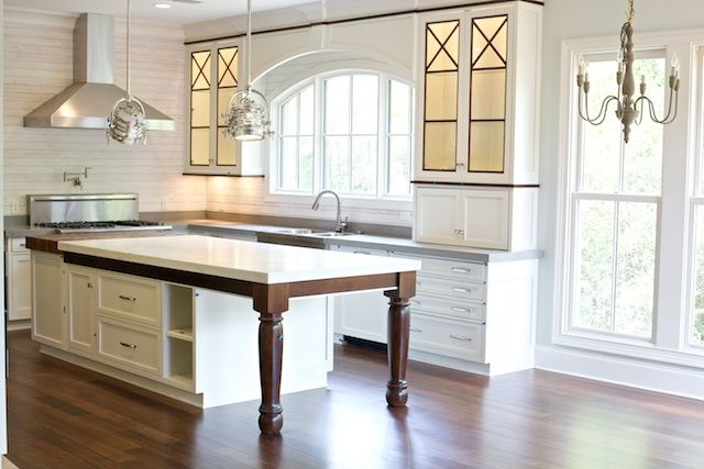 drool alabama white marble on island walnut trim around white cabinets arched window over on kitchen cabinets around window id=21722