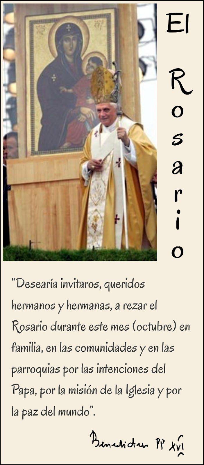 Tarjetas y oraciones catolicas frases del rosario benedicto xvi tarjetas y oraciones catolicas frases del rosario benedicto xvi altavistaventures Choice Image