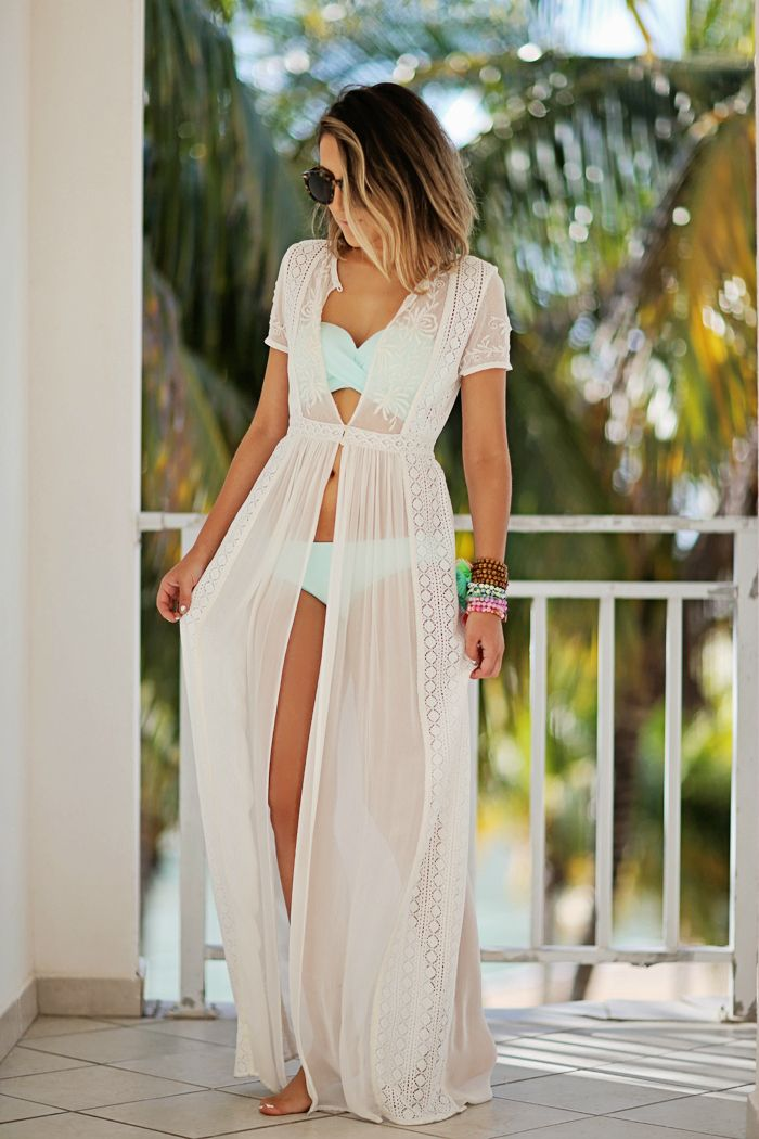 Beach Dresses Cover UPS and Blair