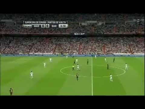 Real Madrid Vs Barcelona 2 1 29 8 2012 Full Match Full Match