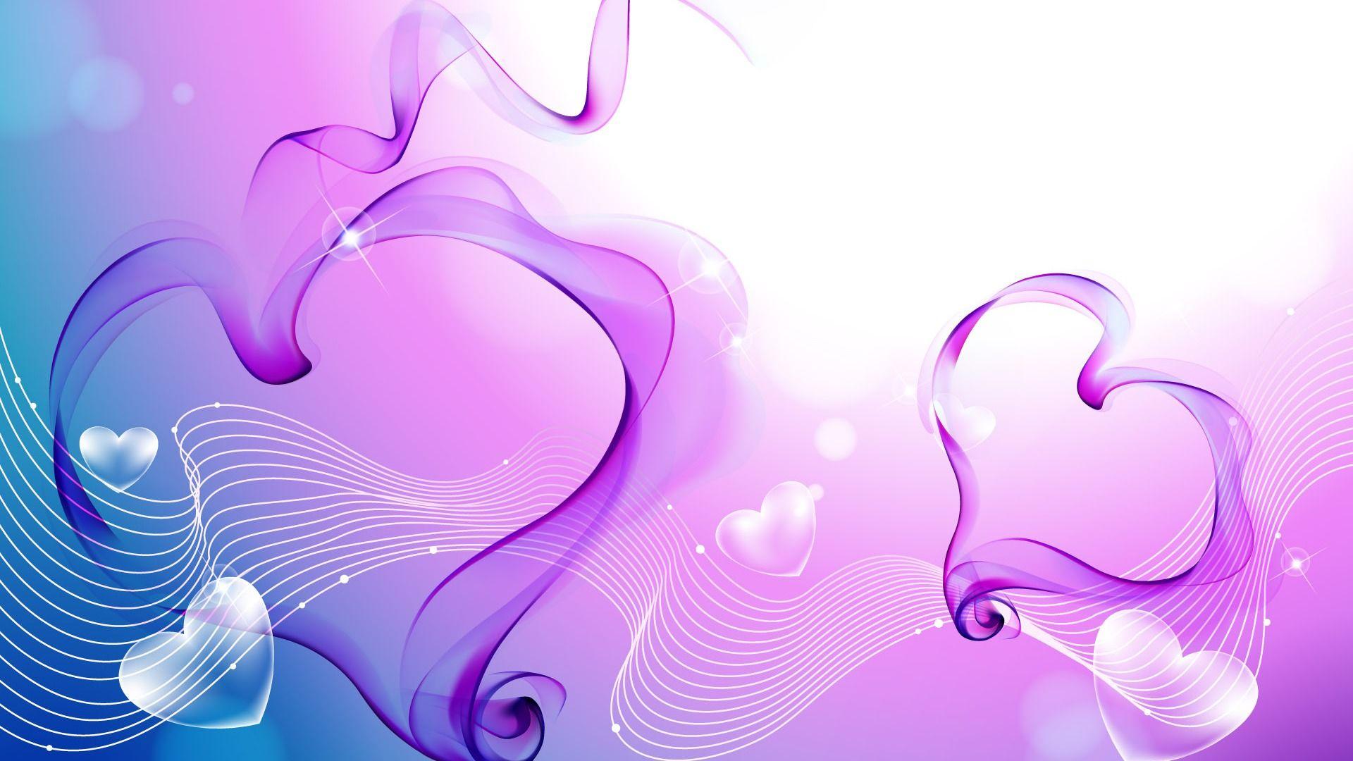 Abstract Love Wallpaper WallDevil
