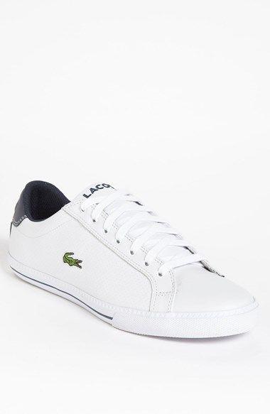 Lacoste Graduate Sneaker Nordstrom Lacoste Shoes Mens Casual Shoes Shoes Mens
