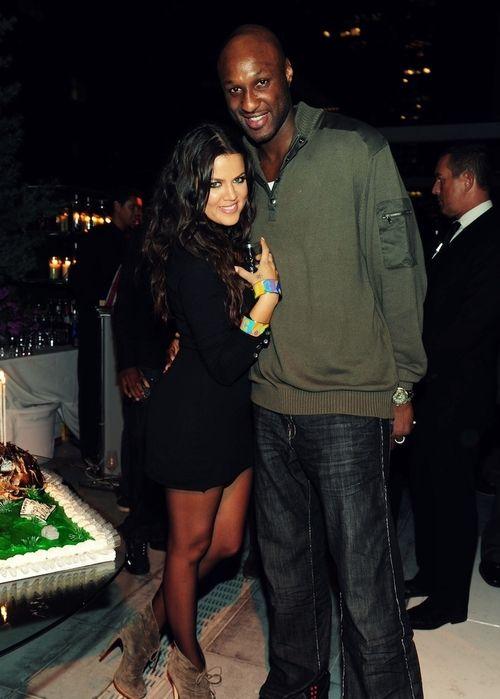 Lamar Odom & Khloe Kardashian-Odom