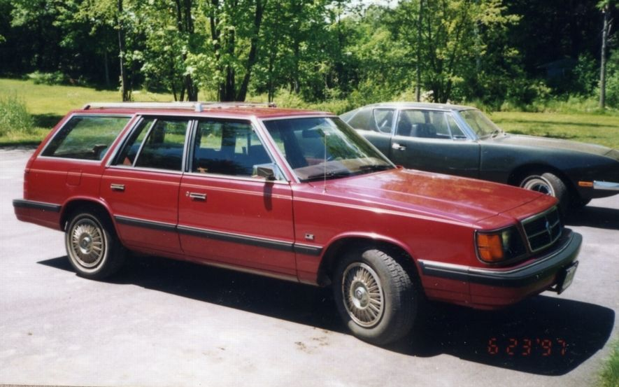 Plymouth Reliant K Car Red The Only Thing Less Cool Than A Mini