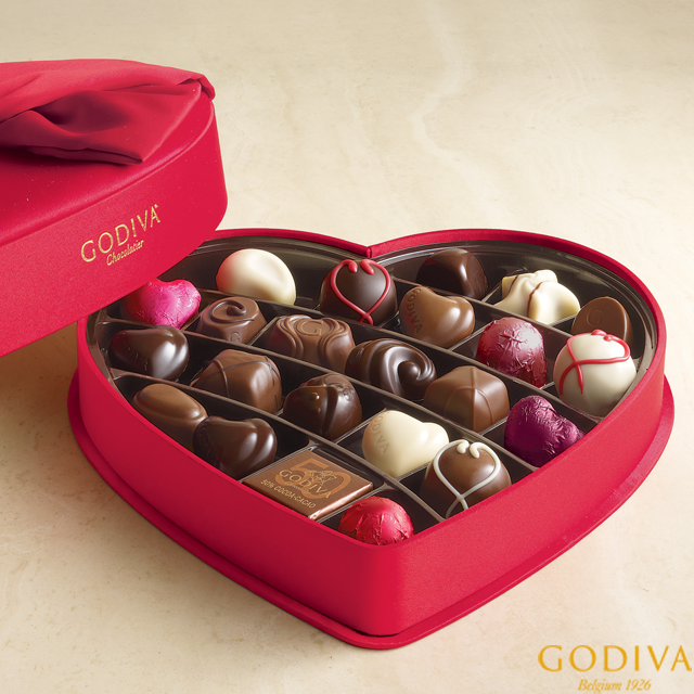 Chocolate Boxes Just Got Sweeter Godiva Is Selling With Square This Valentine S Day Chocolate Sweets Twix Chocolate Unsweetened Chocolate