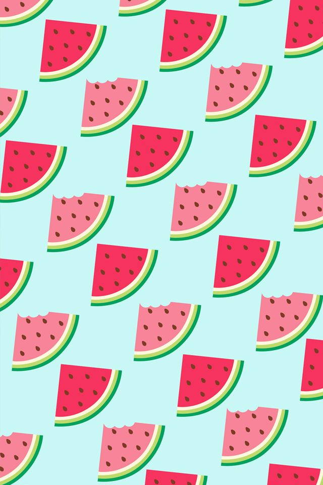 #Watermelon #Pattern / Download more #Fruity #iPhone # ...