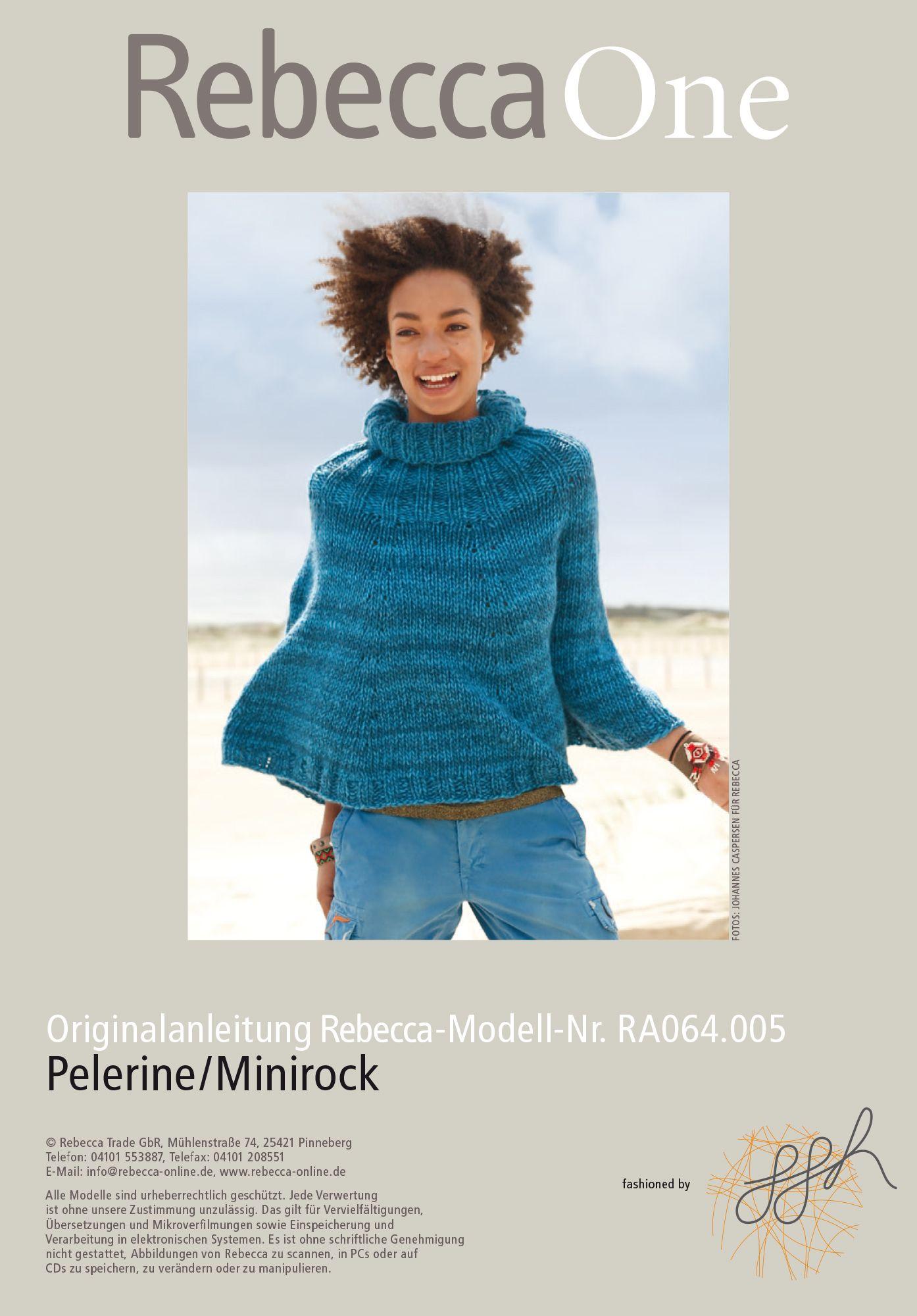 Strickanleitung Als PDF Zum Sofortigen Download Ein Strickmodell U2013 Zwei  Styles! Dieses Rebecca Strickmodell