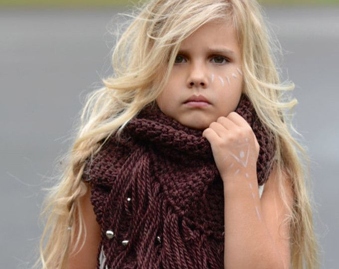 CROCHET PATTERN-The Wild Fire Scarf (small, medium and large sizes)