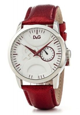 468d0afe07b Relógio D G Dolce   Gabbana Men s DW0701 Leather Synthetic with White Dial  Watch  Relogio  DolceGabbana