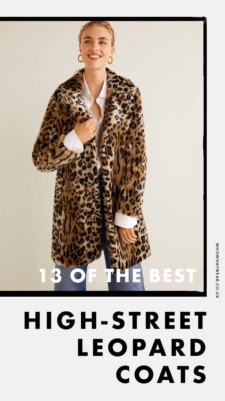 6dcbe7778326 Leopard print coats are a major trend and a must for our autumn outfits.  See and shop the best ones on the high street here.