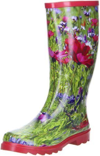 ConWay-Damen-Gummistiefel-Blumenwiese-mehrfarbig