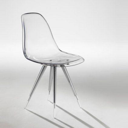 La Chaise Angel Kubifoff Mid Century Modern Style Furniture Plastic Chair Unique Chair