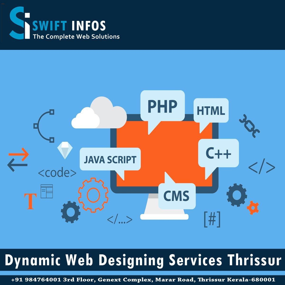 Dynamic Web Designing Services Thrissur Web Design Services Website Development Company Web Design