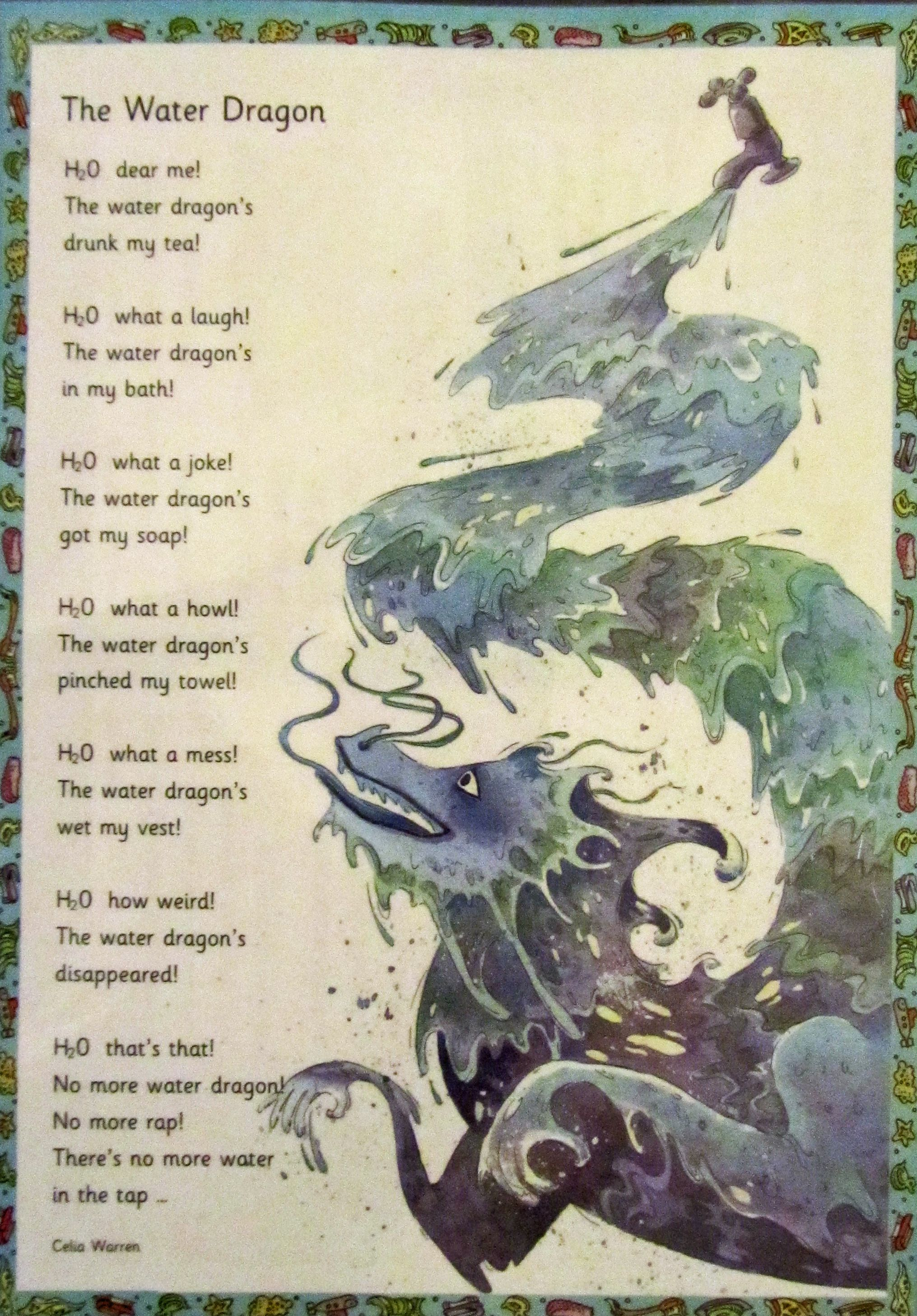 Short Dragon Poems