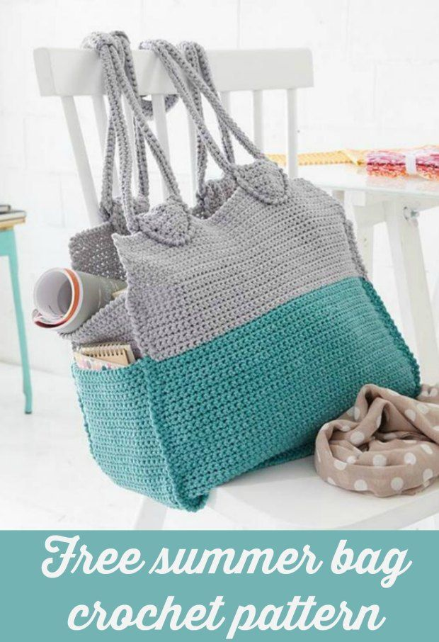 Summer Crochet Bag Free Pattern Single Crochet Easy Crochet And