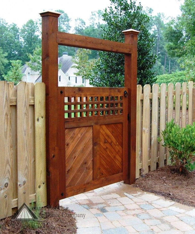 Awesome And Best Fence Design Ideas With Wooden Fence Design Ideas