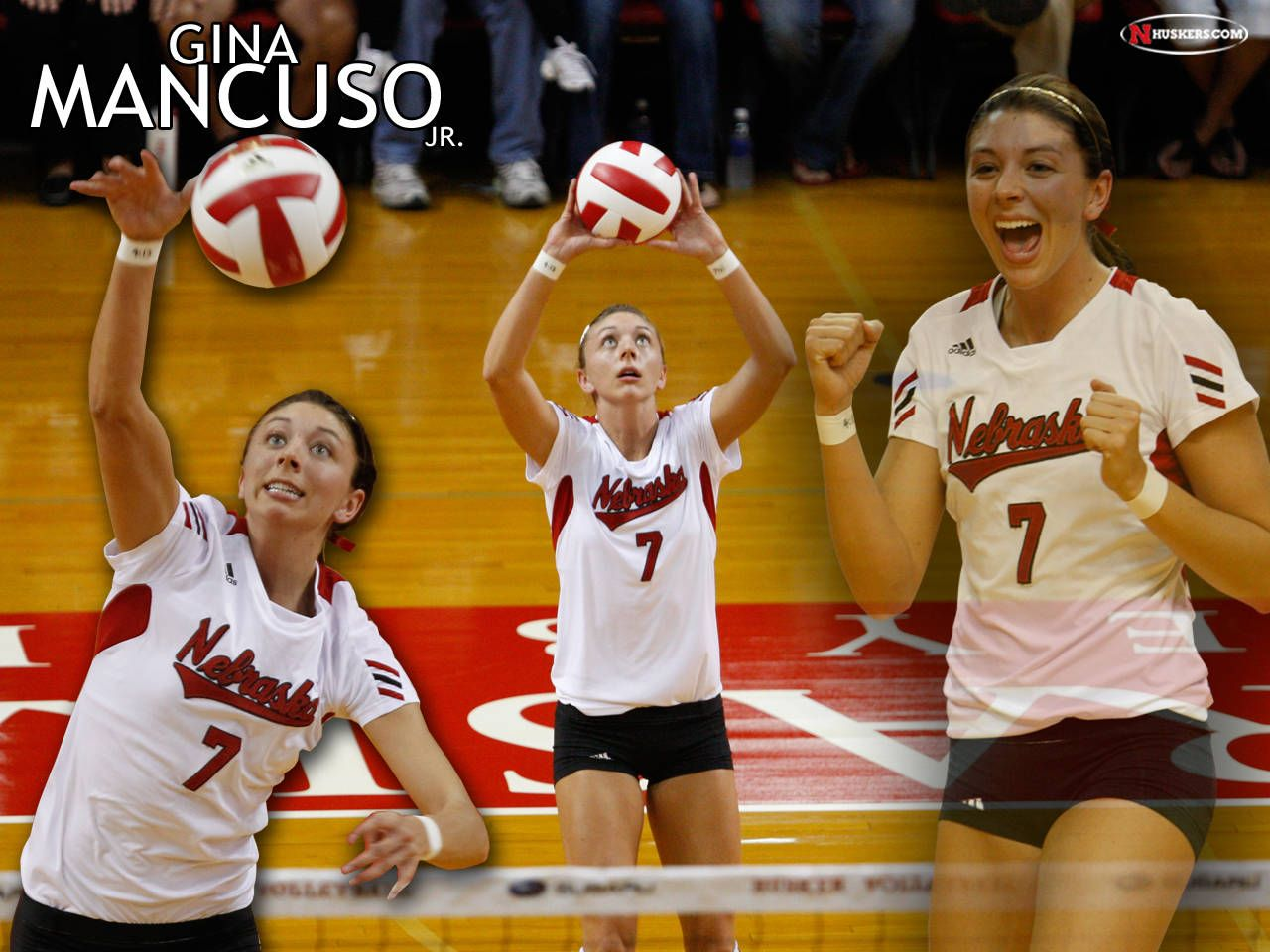 Volleyball Wallpapers Athlete Nebraska Volleyball Wallpaper