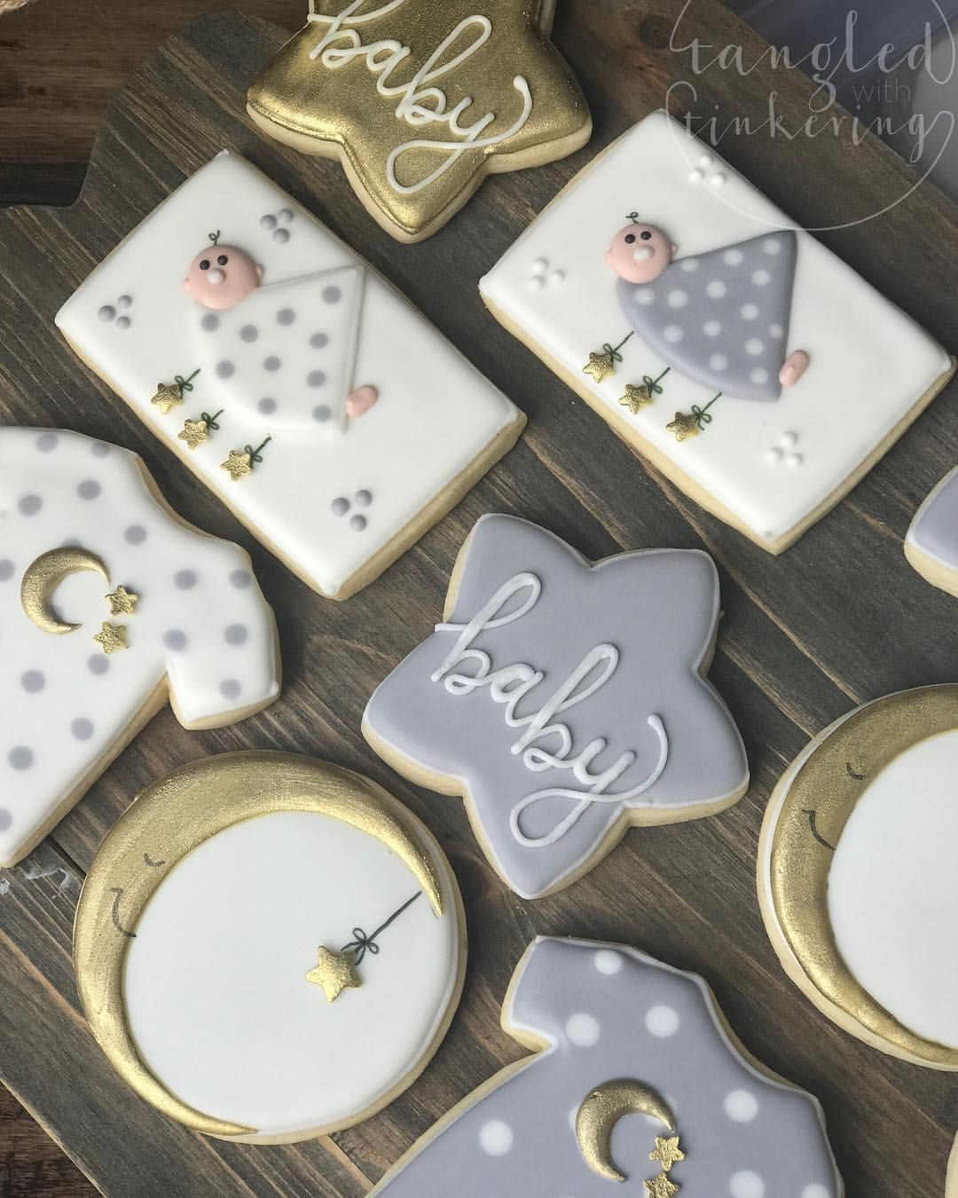 Pin By Cami Butterworth On Cookies: Baby Twinkle Twinkle