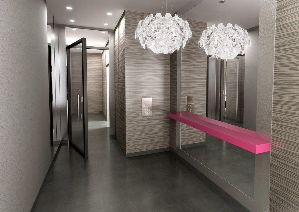 Hall Immeuble Design De La Residence Paris In Motion Journal Du