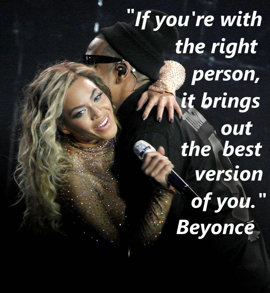 Beyonce Jay Z Quote About Love Beyonce Think