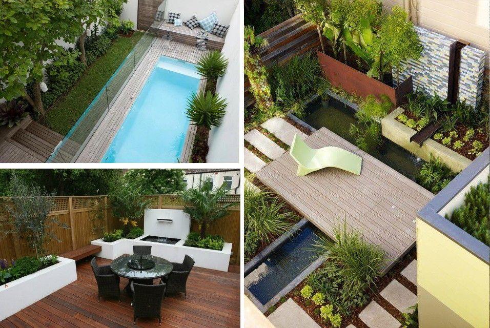 decorar patios, terrazas pequeños, jardines verticales | jardines ...