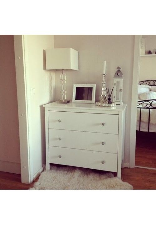 Kullen Dresser Songesand Chest Of 4 Drawers White 82 X 104 Cm 05 Bits And