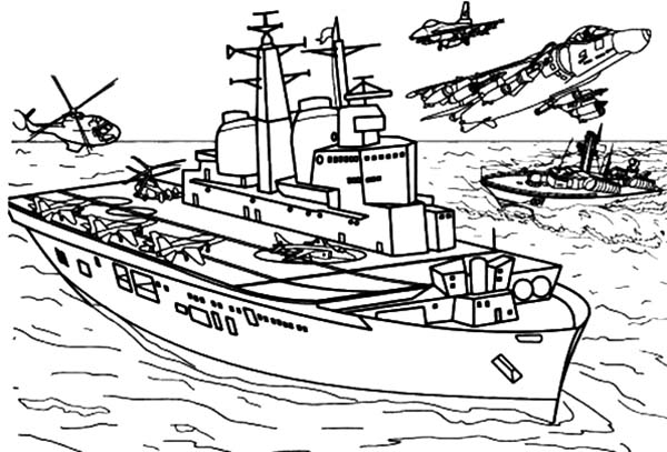 Pin Oleh Paul And Adela Mata Di Aircraft Carrier Coloring Pages Warna Gambar Perang
