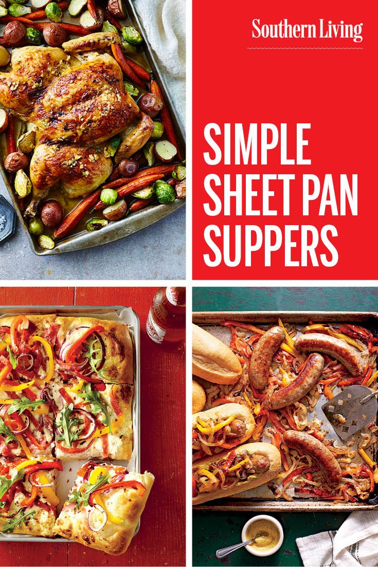 Simple Sheet Pan Suppers Dinner Recipes Pinterest Cooking