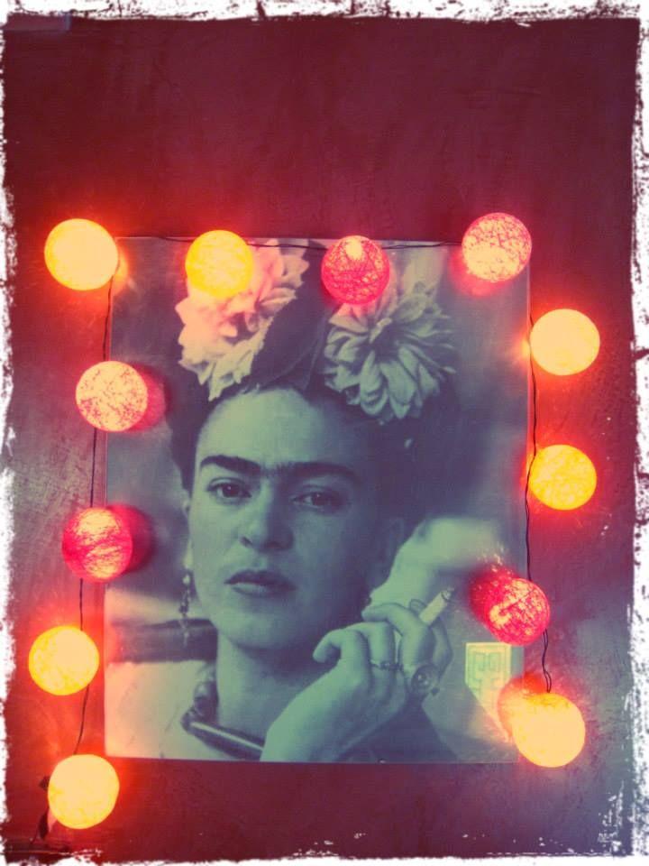 Guirnalda de luces Frida - DAS INDIAS