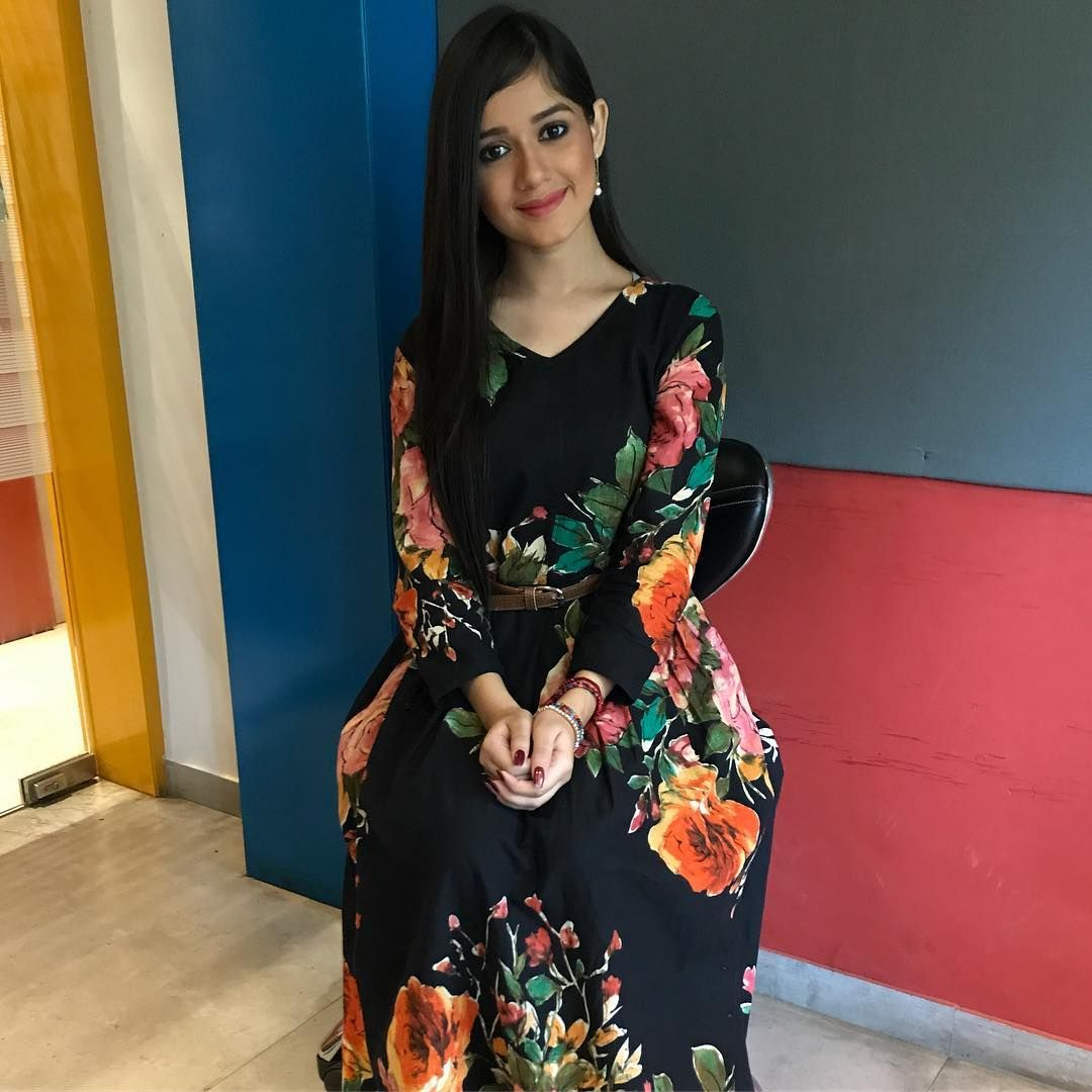 Jannat zubair pink dress  Abhisek Mishra therjabhi on Pinterest
