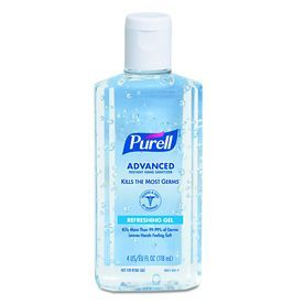 Gojo 24 Count 4 Oz Unscented Hand Sanitizer Gel 9631 Hand