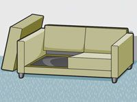 How To Refurbish Upholstered Furniture And Bedding Cushions On Sofa Upholstered Furniture Furniture