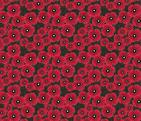 Colorful Fabrics Digitally Printed By Spoonflower Lest We Forget