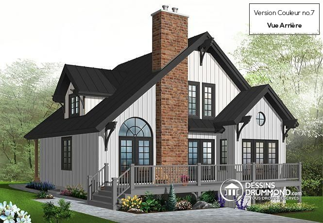 Tiny Home Designs: Plan De Maison Unifamiliale Charlemagne No. 2957 In 2019