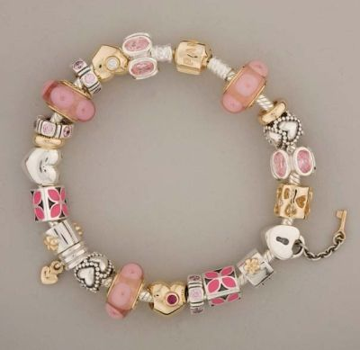 gold pink silver pandora charms pinterest pandora. Black Bedroom Furniture Sets. Home Design Ideas