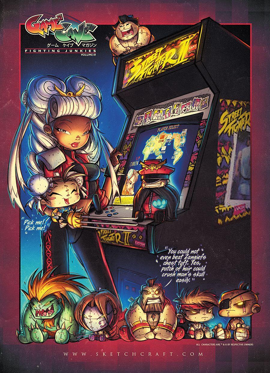 GameCave: Fighting  Junkies Promo  03 by RobDuenas.deviantart.com on @deviantART