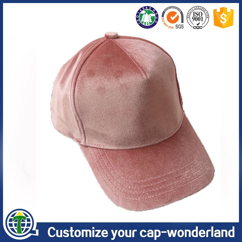 788a89939a508 Hot selling fashion soft unstructured dad hats blank custom velvet baseball  cap