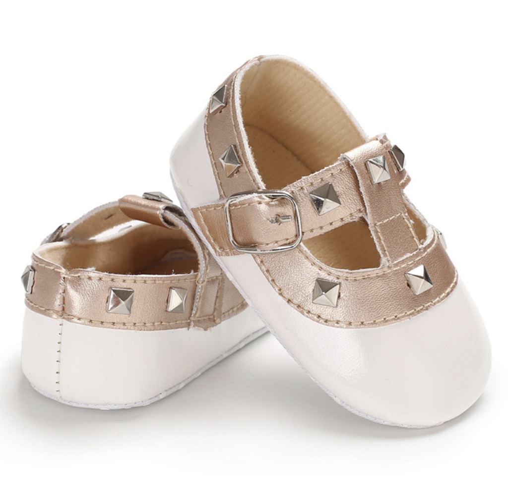 Valen Tiny White Baby Shoes Cute Baby Shoes Trendy Baby Shoes