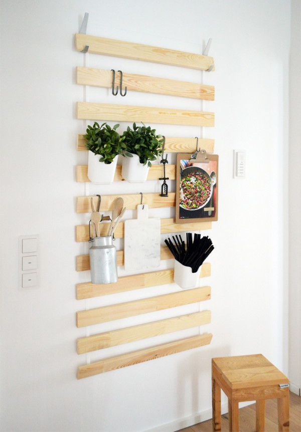 IKEA Bed Slats Wall Hanging Organizers For Every Room Home Design