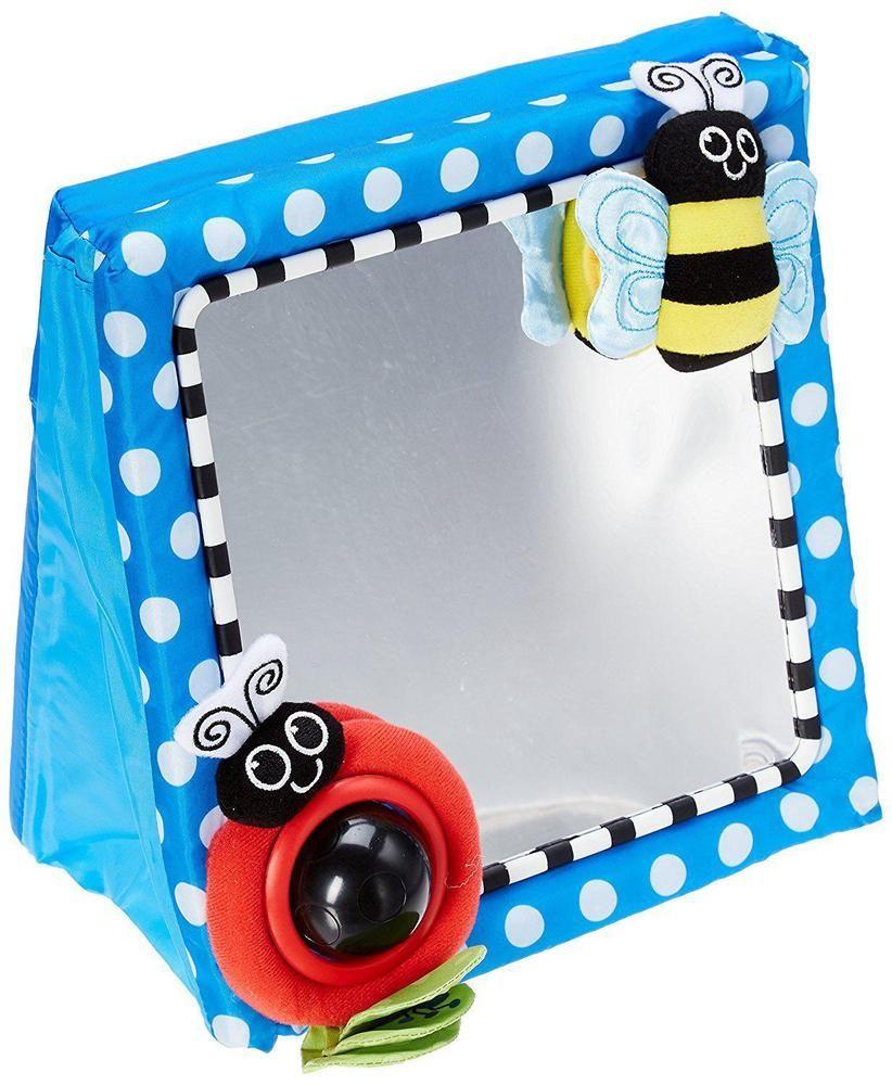 Baby Mirror Toy Developmental Infant Crib Floor Fun Activity Safe ...