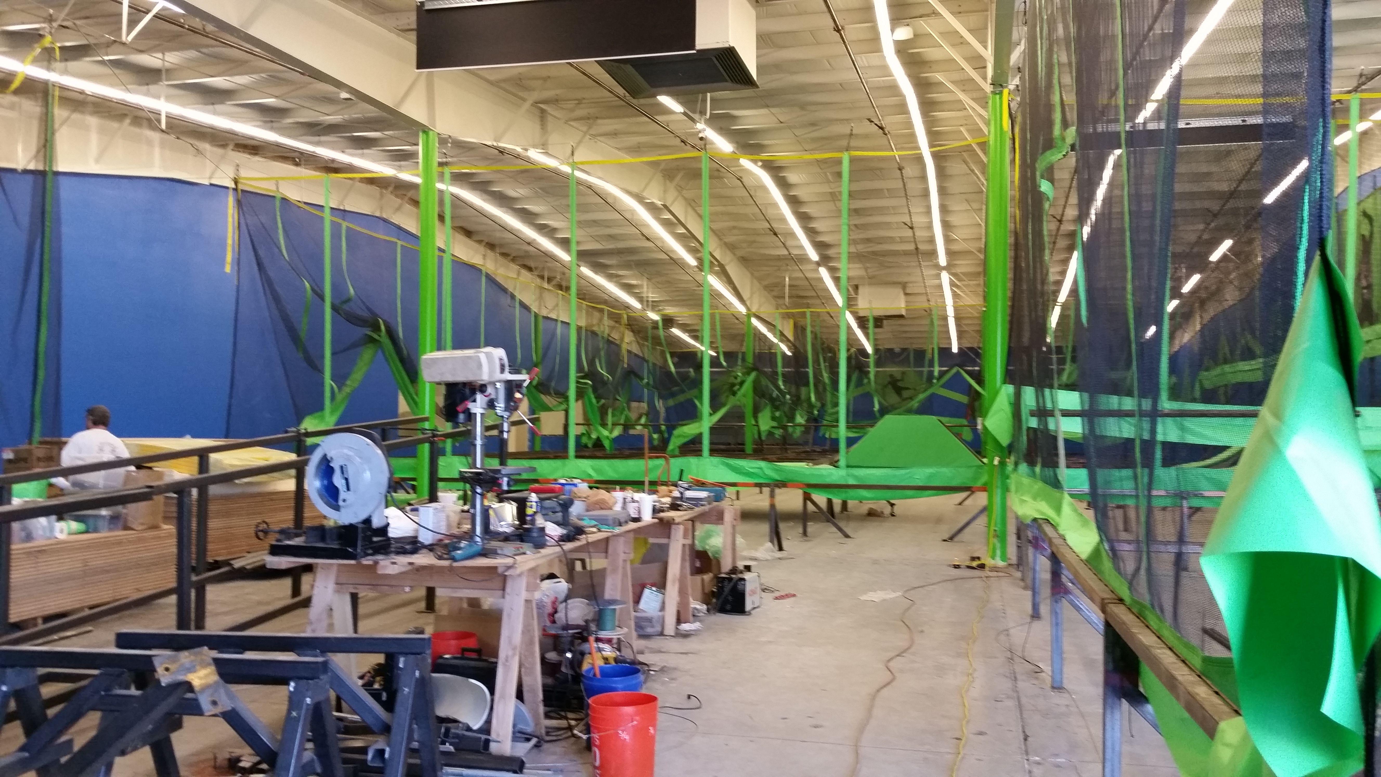 Rare Air in Redding California under construction Indoor