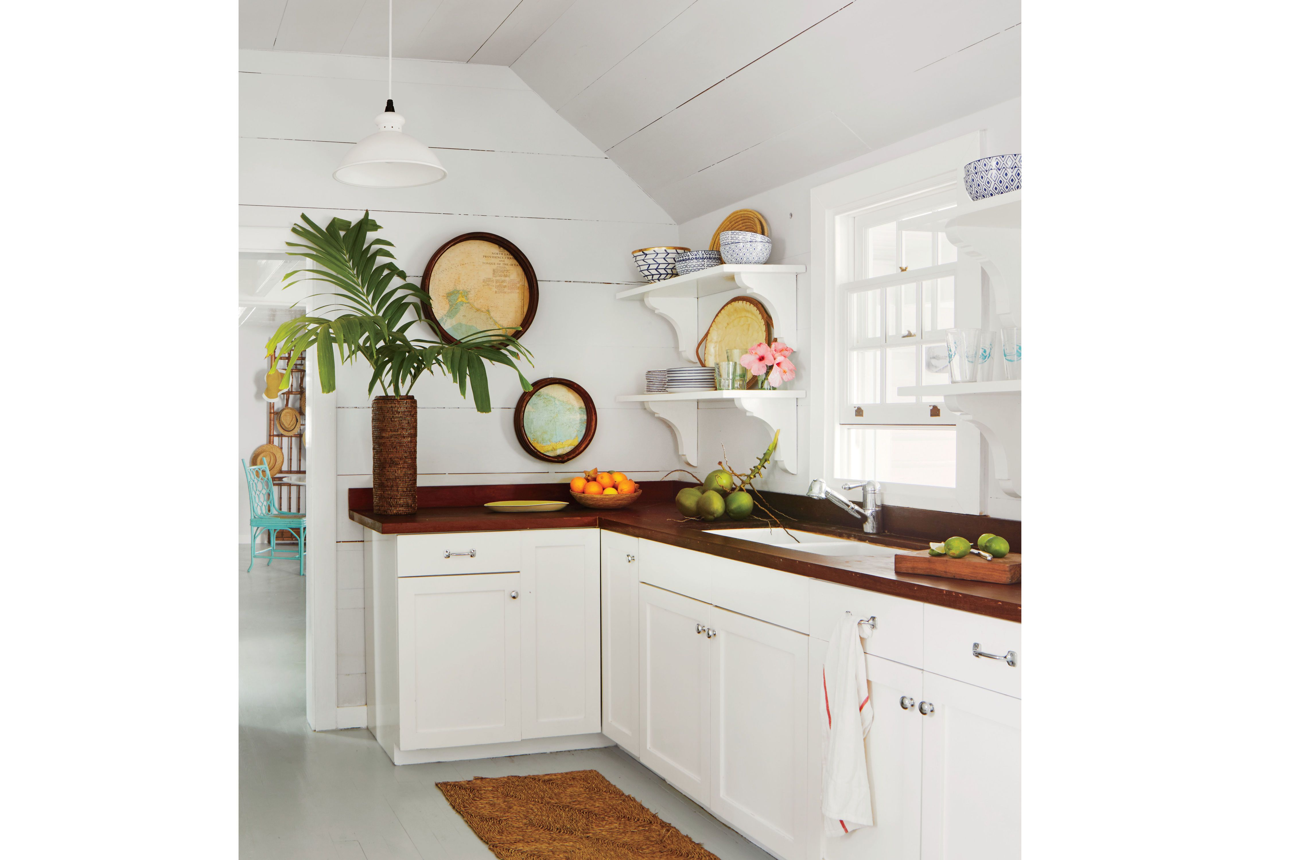 kitchens that make a strong case for open shelving in house