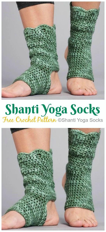 Yoga Socks Crochet Free Patterns - Crochet & Knitting