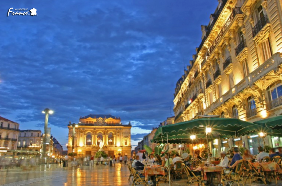 The Place de la Comédie is Montpellier's busiest area. Its name honors the Opéra Comédie, a beautiful Italian-style opera house built in 1888 that sits an audience of 1200.  Have 20 minutes to lose? Grab a coffee from one of these terraces, relax and take in the city.