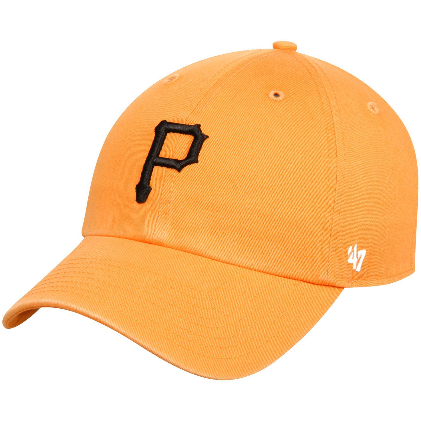 Pittsburgh Pirates '47 BL Clean Up Adjustable Hat - Gold - $17.59