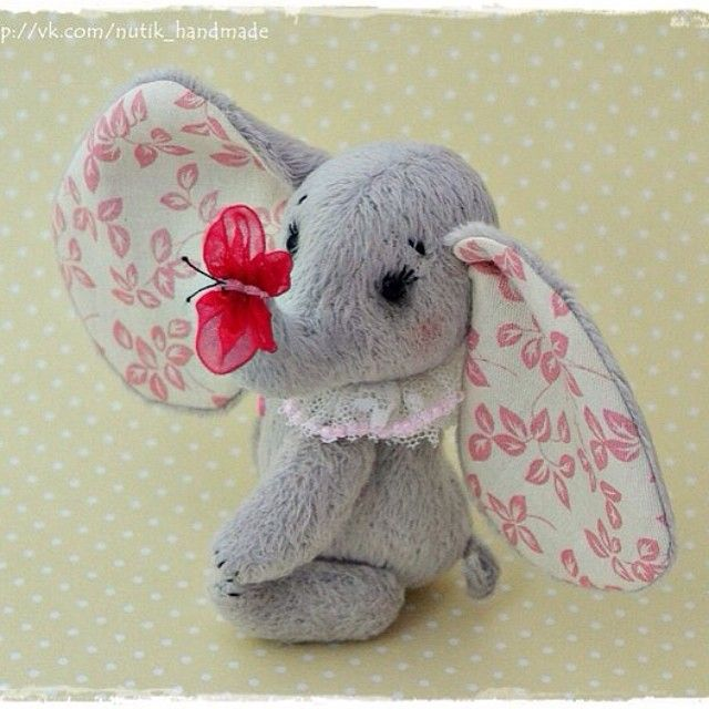 Слоник тедди ☺️ cute toy teddy elephant